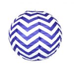12 inch paper chinese lantern twilight chevron