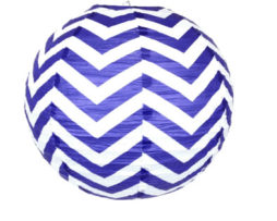 14 inch paper chinese lantern twilight chevron