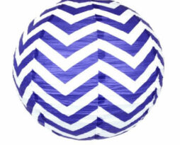 18 inch paper chinese lantern twilight chevron