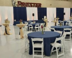 colored backdrop wall room drape rental