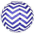 24 inch paper chinese lantern twilight chevron