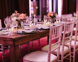 wood farm king table rent rental chicago