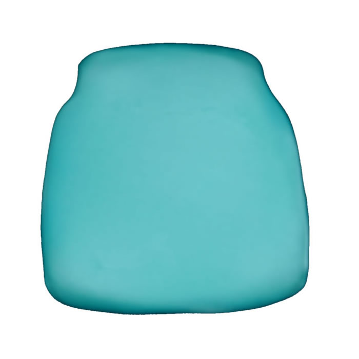 aqua chiavari chair cap seat cushion