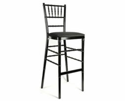 Black barstool bar stool bar height chiavari chair