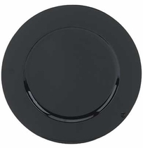 Black lacquer charger plate service plate rental chicago