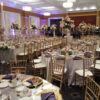 "tall 40"" gold brass candelabra rental chicago"