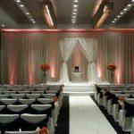 round chuppah huppah wedding reception canopy
