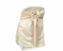 champagne wrinkle free folding chair cover