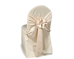champagne wrinkle free universal chair cover