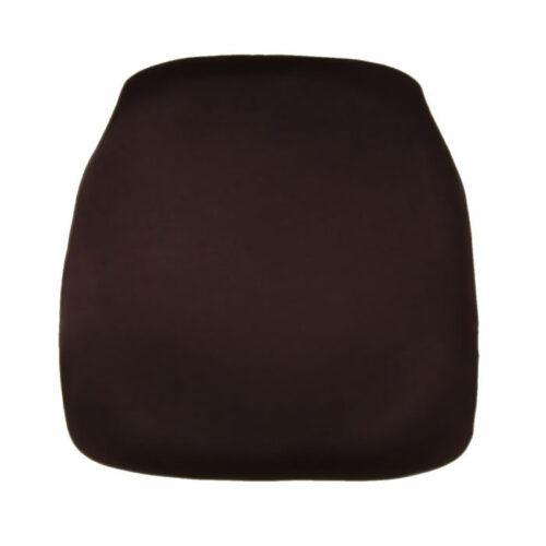 chocolate chiavari chair cap seat cushion