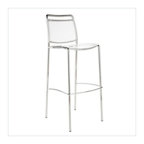 Clear acrylic bar height chair rental chicago