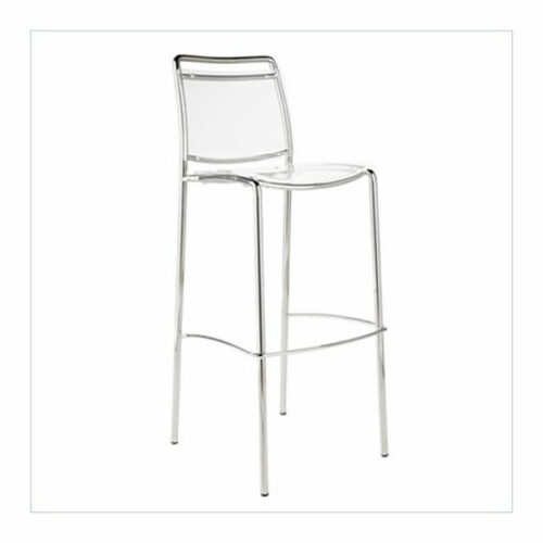 Clear acrylic bar height chair rental chicago