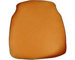 copper chiavari chair cap seat cushion