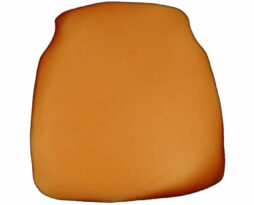 copper chiavari chair cap seat cushion