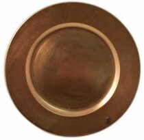 copper acrylic charger plate rental chicago