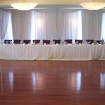designed drape pulls valances wedding backdrop white