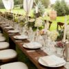 farm french country grouping rental table chicago suburbs