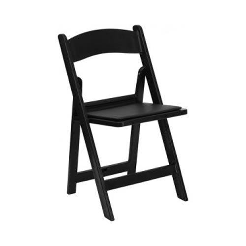 Garden Folding Chairs Black Egpres
