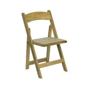 natural folding garden chair natural wood rental chicago suburbs
