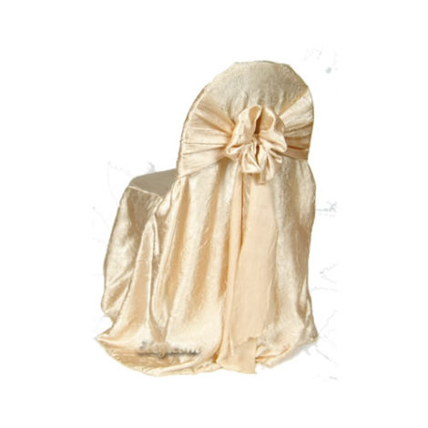 gold crush princess chair cover