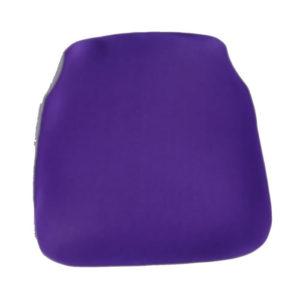 grape purple chiavari chair cap seat cushion