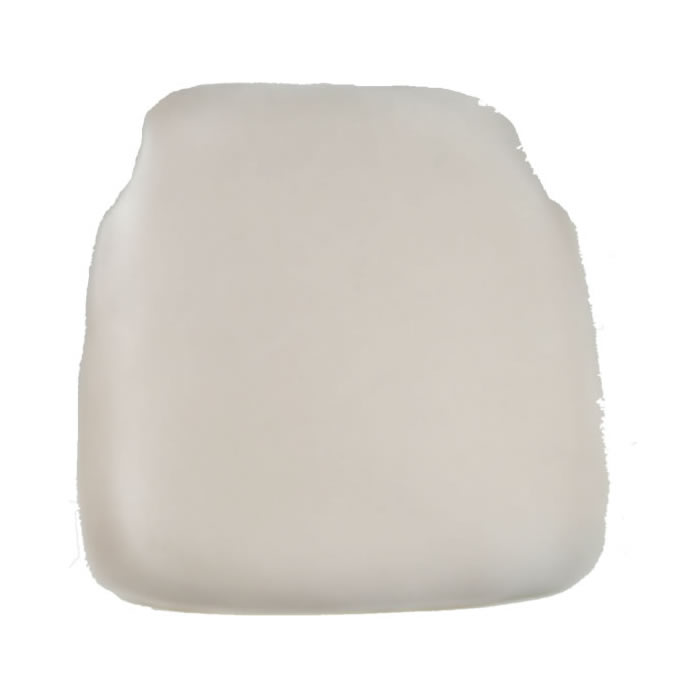 ivory chiavari chair cap seat cushion