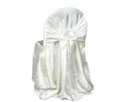 ivory crush princess chair cover