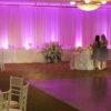 ivory wedding backdrop rental
