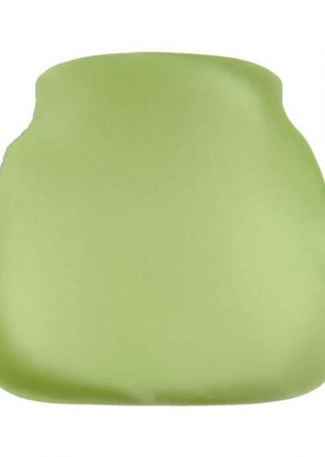 lime apple chiavari chair cap seat cushion