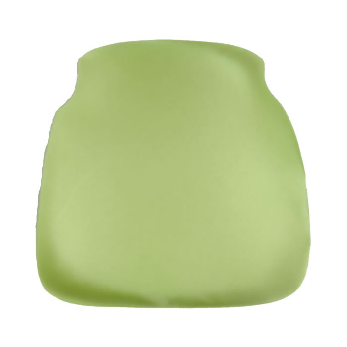 lime apple chiavari chair cap seat cushion