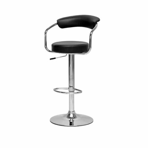 black omni bar stool chicago milwaukee bar chair stool