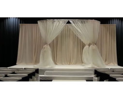 oval wedding canopy chuppah rental