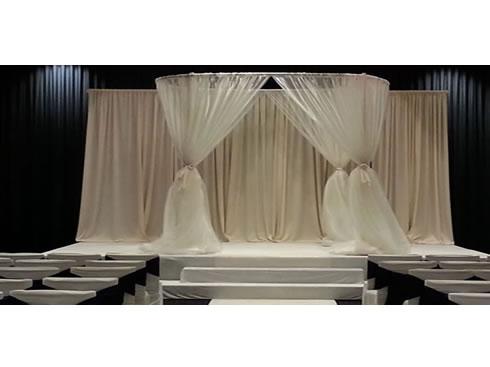 oval wedding canopy chuppah rental  sc 1 st  Elegant Presentations & Oval Chuppah Huppah u0026 Wedding Canopy - Egpres