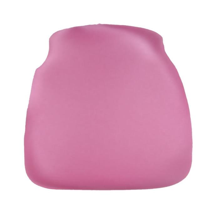 raspberry pink chiavari chair cap seat cushion