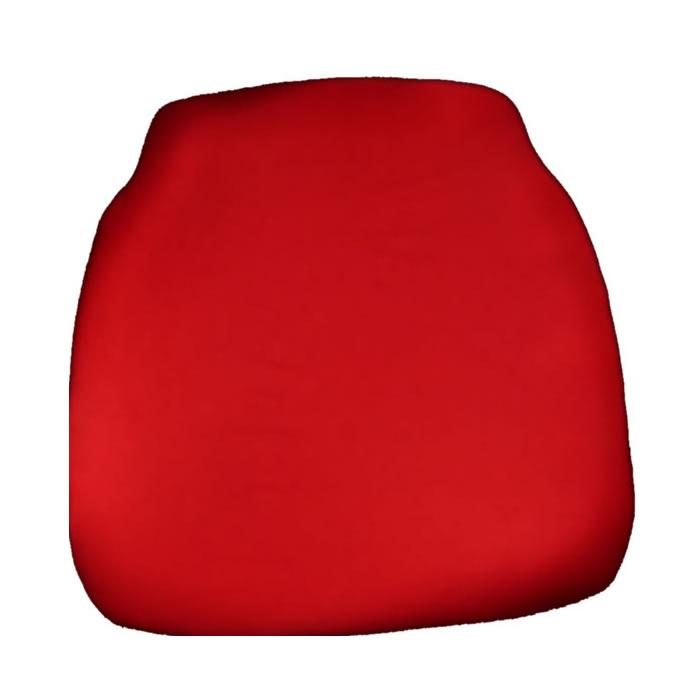 red chiavari chair cap seat cushion
