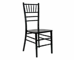 Black chiavari chair rental chicago
