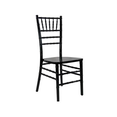 Black chiavari chair rental chicago