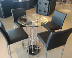 black versa chameleon bar chair rental chicago
