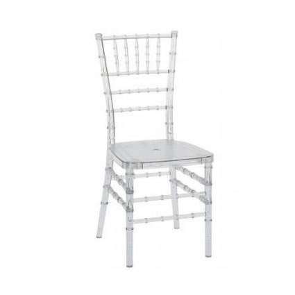 clear chiavari chair wedding reception ice crystal rent chicago