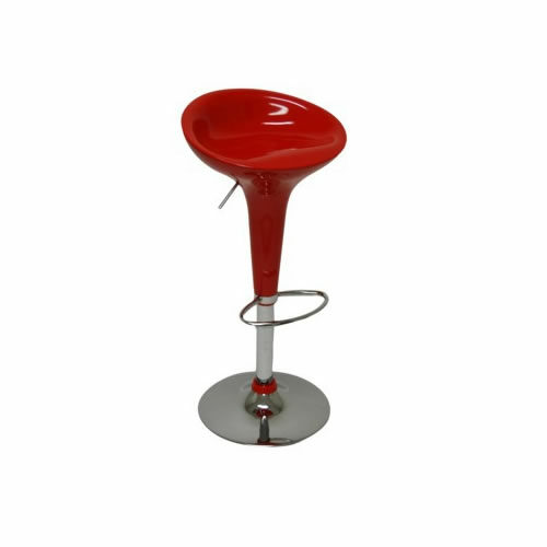scoop red bar stool dining chair chicago suburbs