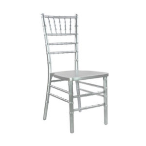 Silver wedding chair chiavari chair rental chicago milwaukee
