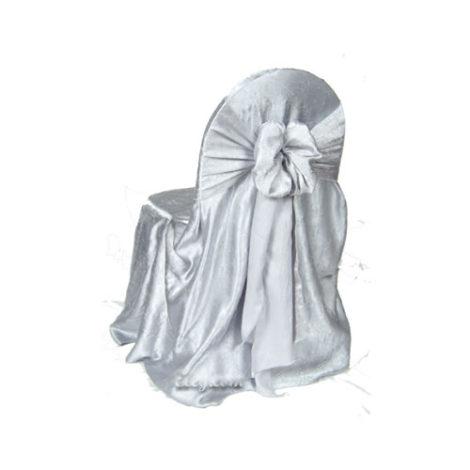 silver crush princess chair cover