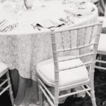 white antique vintage wedding reception chiavari chair rental