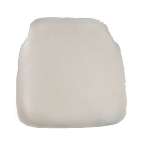 white chiavari chair cap seat cushion