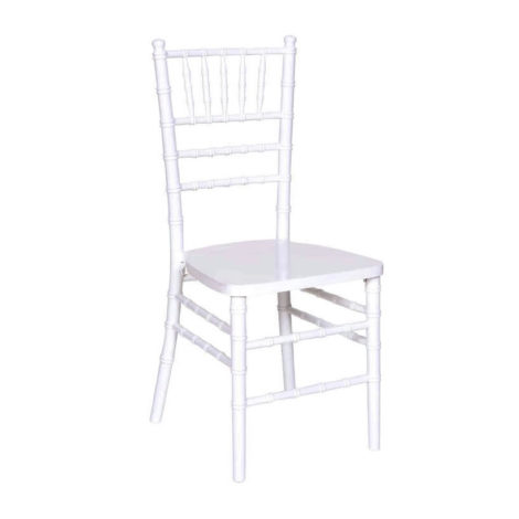 White Chiavair chair rental chicago