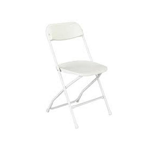 white folding chair rental chicago