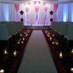 white versa leather chameleon wedding ceremony reception dining chair