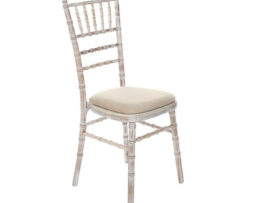vintage white weathered rustic lime wash chiavari chair