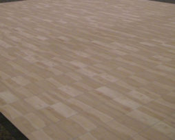 maple plank wood dance floor