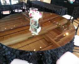 whole table top mirror rental